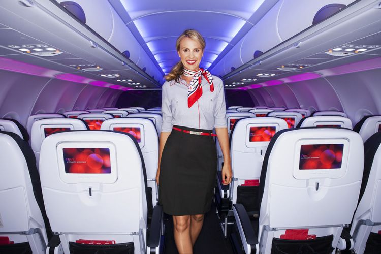 Virgin America Introduces New Uniforms By Banana Republic
