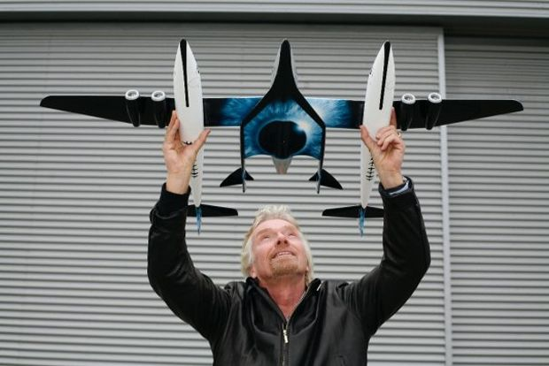 richard branson space flight