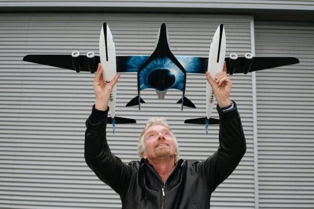 richard branson space flight