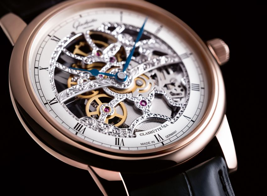 Glash�tte Original Senator Manual Winding Skeletonized Edition