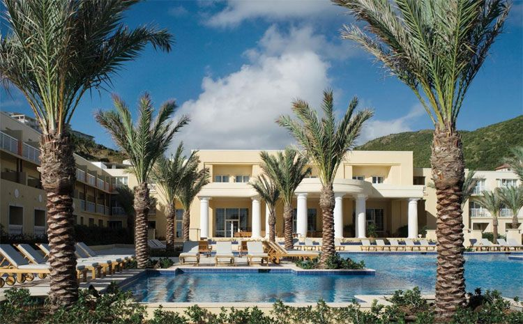 Westin Dawn Beach Resort & Spa portico view