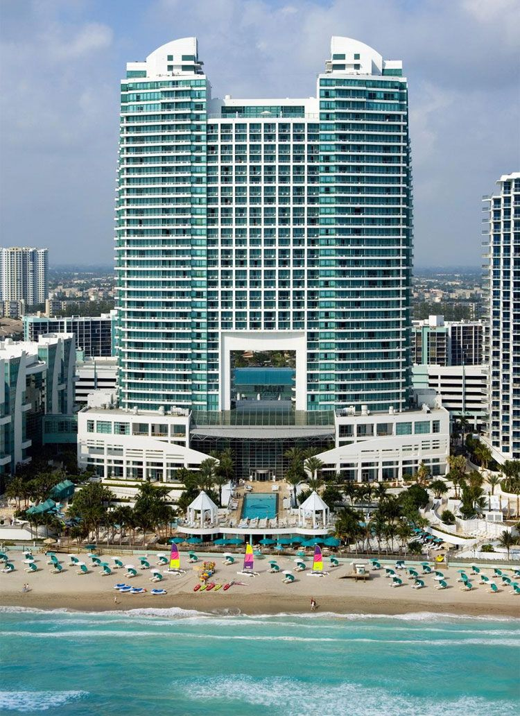 Westin Diplomat Resort & Spa beach view