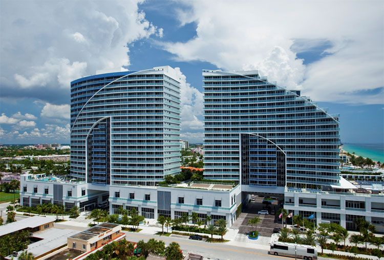 W Fort Lauderdale exterior view