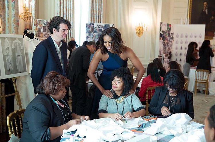 white house fashion education workshop
