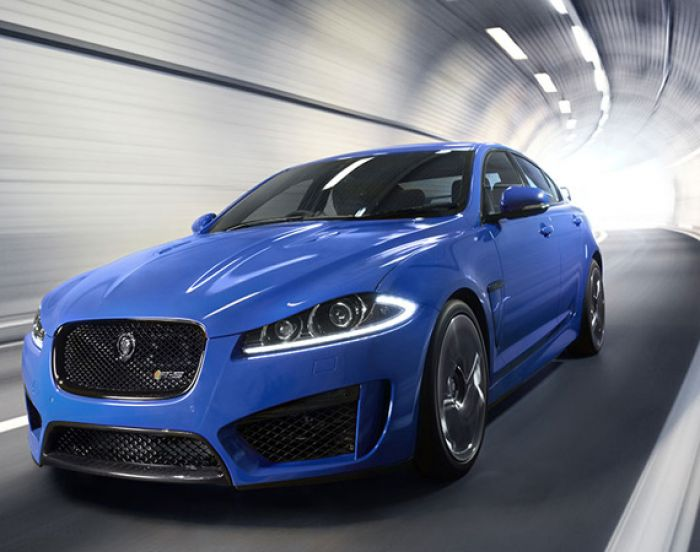 Best Luxury Sedans. Jaguar XFR S