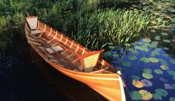 Take a Yacht Break and Row Out in This Beautiful Handcrafted Guideboats