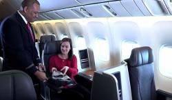 VIDEO: American Airlines Shows Off Their Business Class Perks