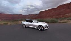 VIDEO: Hop in the 2016 Chevrolet Camaro Convertible for Its Inaugural Drive