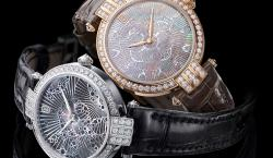 Harry Winston Presents Premier Lace Timepiece Crafted From Mother-of-Pearl