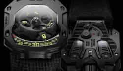Urwerk's Latest Unexpected Design Runs On Self-Winding Dual Air Turbines