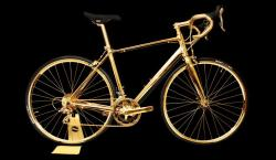 You Better Not Scratch This $390K 24K Gold Bicycle