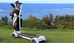 Ditch the Cart and Surf the Putting Green on Golfboard