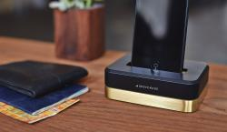Grovemade Steps Out of Their Comfort Zone With 3-Pound Limited Edition Brass iPhone Dock