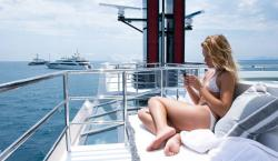 Join the Ranks of Harrison Ford and Liz Taylor By Chartering M/Y Highlander
