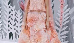 Lagerfeld Crafts a Mechnical Blooming Garden for Chanel Couture Spring 2015