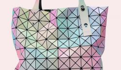 Issey Miyake's New Prism Tote is a Kaleidoscope of Pastel Colors