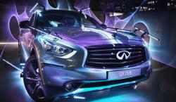 Infiniti Turns the QX70 Into a Paint Brush for <i>Inspired Light</i> Event in the Middle East