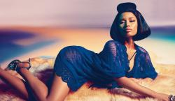 Nicki Minaj Puts Her Assets to Work For Roberto Cavalli