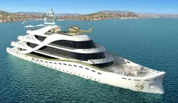 This Feminine Mega Yacht Was Designed Specifically for Sea-Loving Females