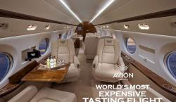 Tequila Avion's $500,000 Package Includes a Private Jet for You & 10 Friends Plus a Professional Photog