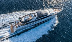 Riva Finally Releases Anticipated 122-Foot Mythos Sol Yacht