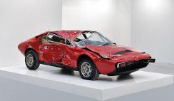 Wrecked Ferrari Sells for $250k as Objet Trouv� in Paris