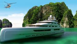 Largest Yacht Ever Built in China is Officially Off the Market