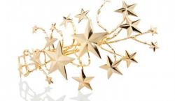 Rodarte's Gold Star Hair Jewelry is a Statement-Maker for the Holidays