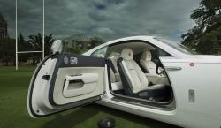 Rolls-Royce Gets Sporty With Customized Rugby-Inspired Wraith