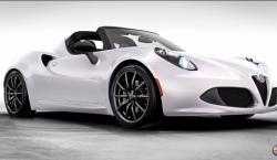 The 2015 Alfa Romeo 4C Spider is All Bespoke Options, Carbon Fiber and Wind in Your Hair