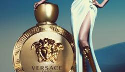 Versace Taps Supermodel Lara Stone as the Face of Newest Fragrance Eros Pour Femme