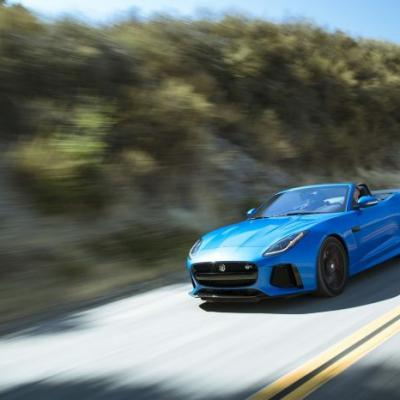 Carving Up the California Coast with Jaguar & Land Rover's Special Vehicle Operations Supercars