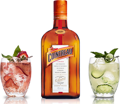 Cointreau makes the perfect addition to your favorite drink.
