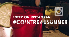 ENTER ON INSTAGRAM #COINTREAUSUMMER
