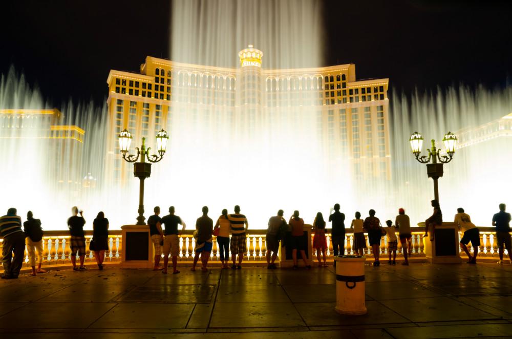 Fountains at Bellagio Hotel  Casino
