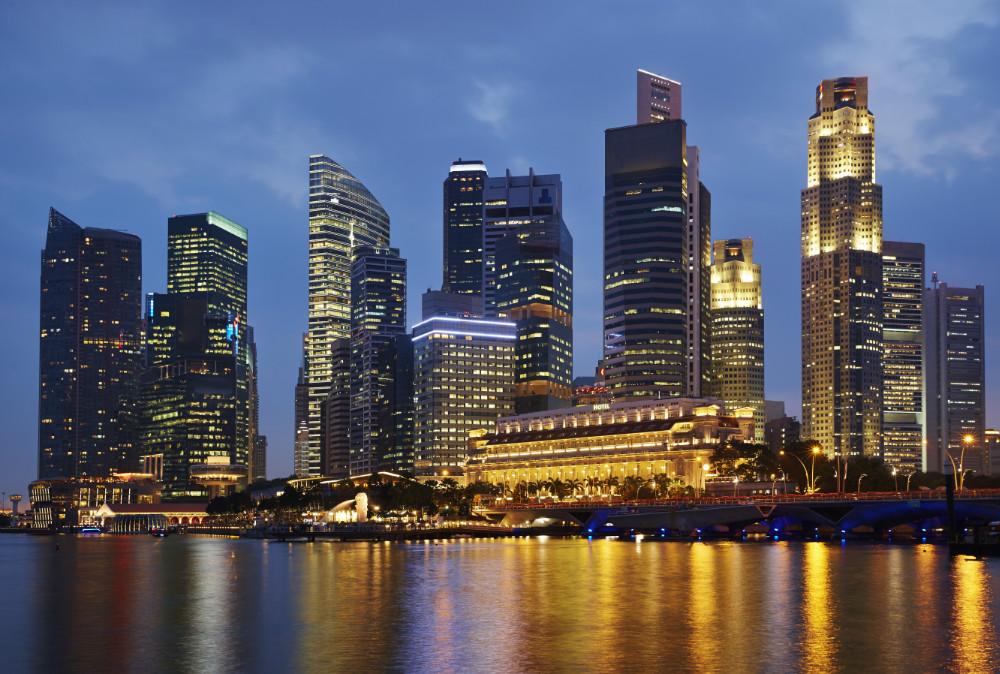 Singapores Skyline