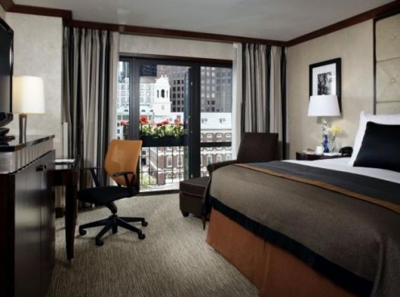 millennium bostonian guestroom