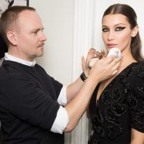 Vogue Goes Behind-The-Scenes at Dior Couture With Bella Hadid