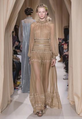 Maria Grazia Chiuri & Pierpaolo Piccioli Fall in Love for Valentino's Couture Collection