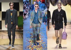 Top Trends Straight From the Spring/Summer 2016 Runways of Milan Fashion Week Men's