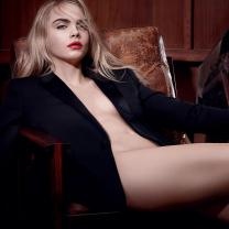 Cara Delevingne Poses Nude in Another NSFW Campaign for YSL Beauty
