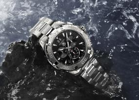 Tag Heuer Launches Aquaracer 300m Ceramic Line in Partnership With the World Surf League