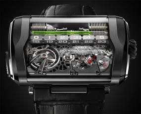 HYT's H3 Uses Water to Tell Time, Houses Hydromechanical Marvel to Be Unveiled at BaselWorld