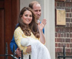 Congrats, Kate! Meet Her Royal Highness Princess Charlotte Elizabeth Diana