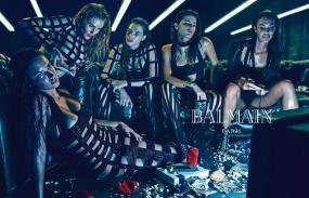 Balmain's New Spring '15 Campaign Shows Models in