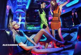 Alexander Wang Turned His Own Real-Life Party Scene Into a Sexy Campaign Spread for S/S 2015