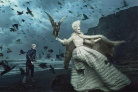 Moncler Channels A Modern Fairytale in Snow Queen-Inspired Campaign