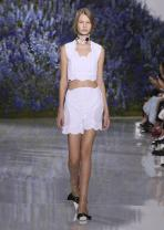 Raf Simons Reimagines the Simple Ease of the Season for Dior Spring/Summer 2016