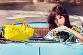 Alexa Chung Scores Stunning Campaign As the Spring 2014 Face of Longchamp