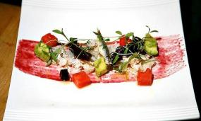 Lighten Up the Winter With This Crab Salad Featuring Watermelon and White Anchovies
